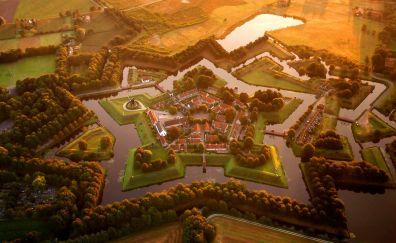 Bourtange Village, Netherlands