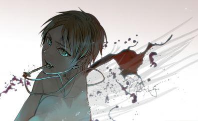 Eren Yeager, anime, Attach on Titan