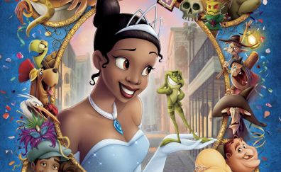 The princess and the frog animation movie