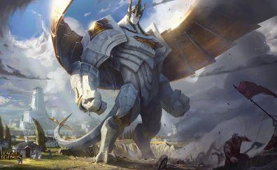 Galio, league of legends video game