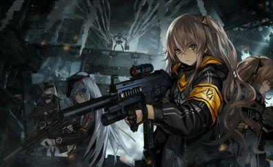 Girl army anime