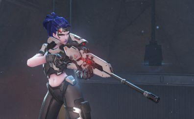 Widowmaker, art, overwatch video game