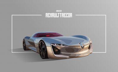 Renault concept car, art