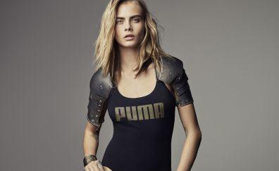 Cara Delevingne, Hot photo shoot, blonde, celebrity