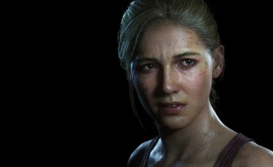 Uncharted 4: A Thief's End, Elena Fisher, video game, face