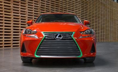 2017 Lexus Sriracha IS car