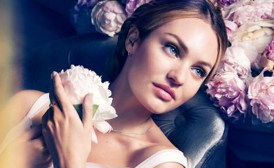 Candice Swanepoel on max factor