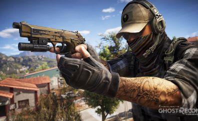 Tom Clancy's Ghost Recon: Wildlands video game, solider