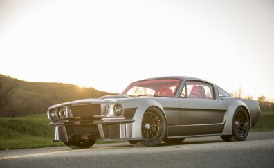 Ford Mustang Fastback classic car, front view
