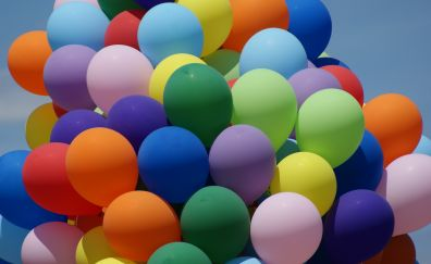Balloons, colorful