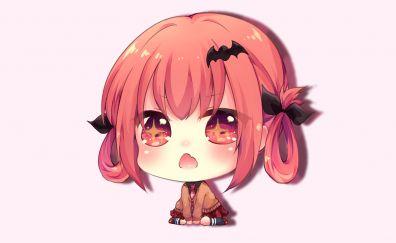 Satanichia Kurumizawa Mcdowell, red head anime girl
