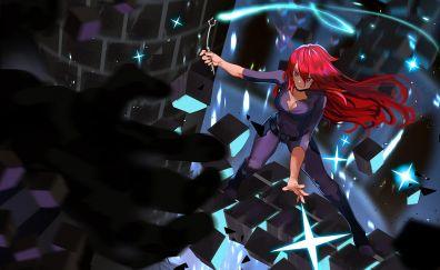 Red head, Ursula Callistis, Little Witch Academia, anime girl