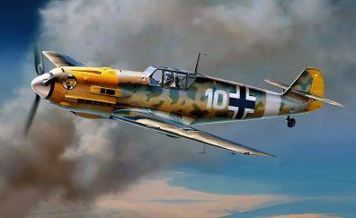 Messerschmitt BF 109 military plane