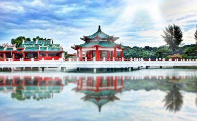 Asia temple pagoda