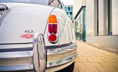 Jaguar oldtimer retro car