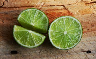 Lime, citrus, fruits slices