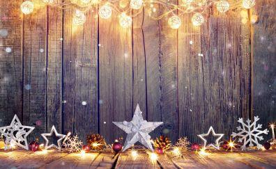 Xmas decorations, stars, Xmas lightning