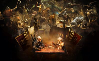 Gwent: The Witcher Card Game, playstation 4, xbox, one pc, 2017