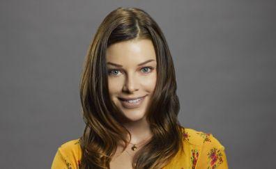 Lauren German, celebrity, smile
