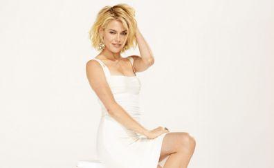 White dress, Rachael Taylor, celebrity
