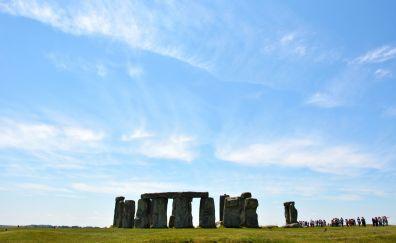 Stonehenge, rocks, landscape, England