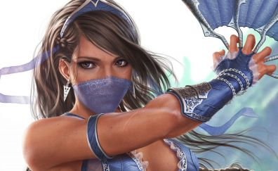 Princess kitana, Kitana, Mortal Kombat video game, art