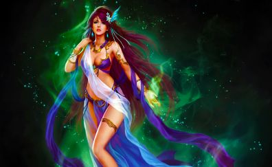 League of Angels, Mobile game, video game, fantasy hot girl