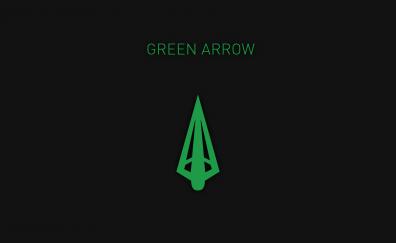 Green arrow minimal