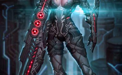 Futur Girl warrior
