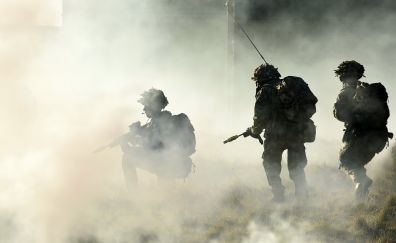 Soldier, military, war