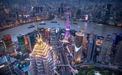 Hong kong city's buildings