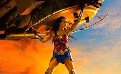 Wonder Woman, lifting, tank, actress