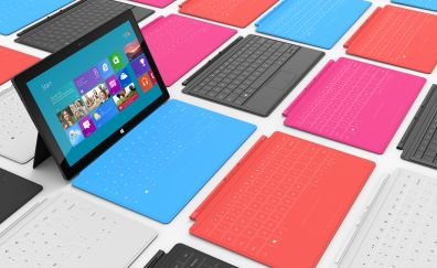 Microsoft surface tablet colors