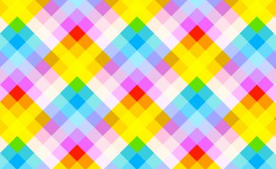 Diagonal stripes and squares colorful