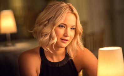 Jennifer Lawrence, blonde, actress, Passengers movie