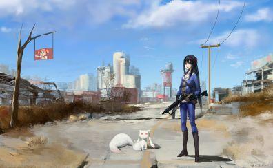Homura Akemi, Puella Magi Madoka Magica, anime girl