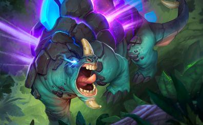 Dinosaur, Hearthstone: Heroes of Warcraft, video game
