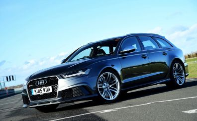 Audi RS6 luxury sports car