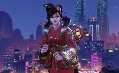 Luna mei, overwatch video game, girl