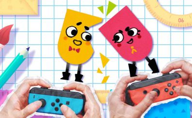 Snipperclips Video game, gaming