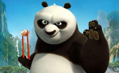 Kung Fu Panda, 2008 animated movie, panda