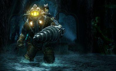 BioShock Video game, big daddy