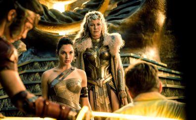 Wonder woman, Connie Nielsen, Gal Gadot, movie