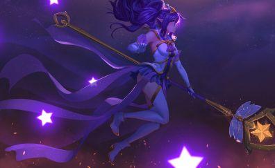 Magic, fantasy girl artwork
