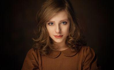 Elizabeth Arzamasova, blonde, model