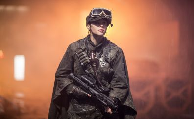 Felicity jones rogue one a star wars story