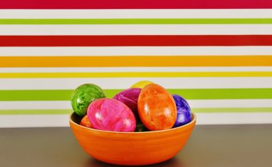 Egg, Easter, colored eggs