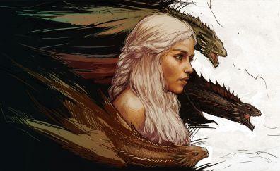 Game of thrones, Khaleesi - Daenerys Targaryen