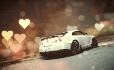 Need for Speed, video game, Nissan GTR, 2017, 5k