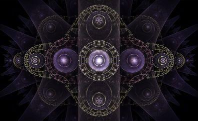 Fractal, pattern, abstract, circles